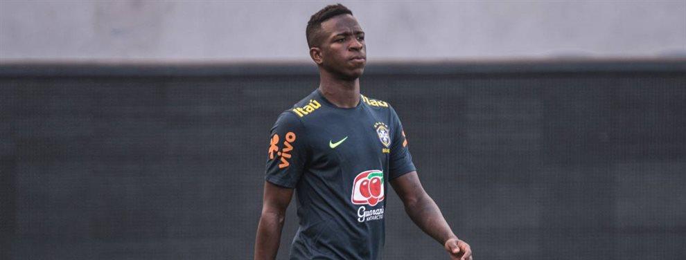 Vinicius Junior ha sido duramente criticado tras su debut con la selección brasileña