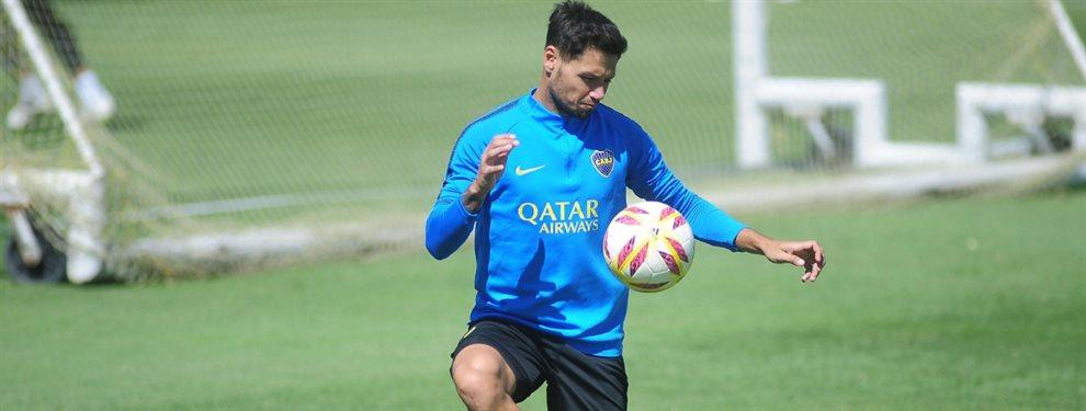 Mauro Zárate y Lisandro López entrenaron a la par del grupo en el entrenamiento de este miércoles de Boca.