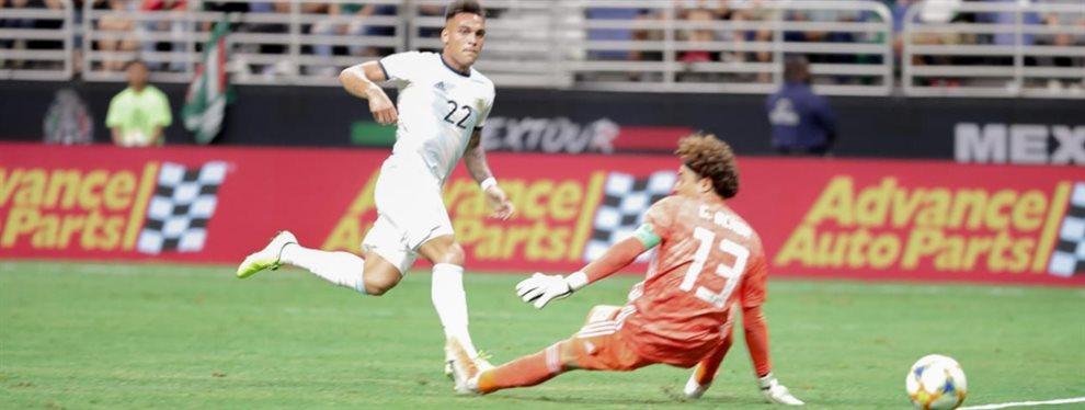 Los tres goles que Lautaro Martínez convirtió ante México le permitió tener un comienzo goleador mejor que el de muchos históricos de la Selección.