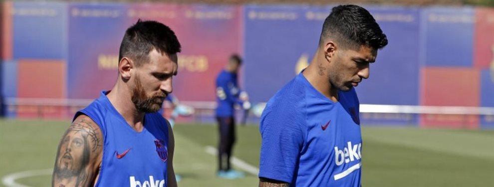 El Barça ha escogido a Jadon Sancho y Kylian Mbappé para relevar a Luis Suárez y Leo Messi