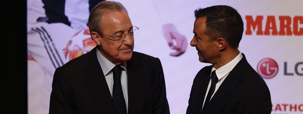 Florentino Pérez ha pedido a Jorge Mendes que haga lo posible por traerle a Rubén Neves