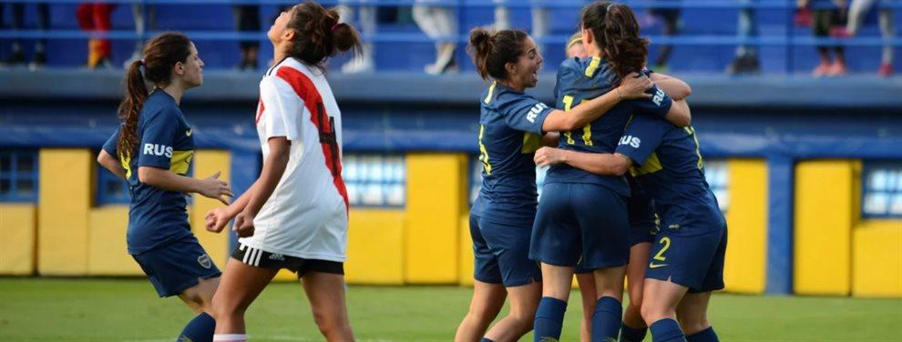 Se realizó el sorteo del Torneo de Primera División del fútbol femenino y en la primera fecha habrá Superclásico.