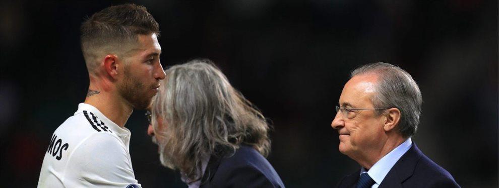 Sergio Ramos y Florentino Pérez no son muy amigos y han tenido una úlima enganchada bestial