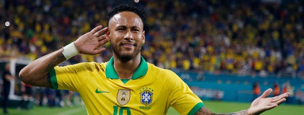 Si el PSG logra cerrar la contratación de Wilfried Zaha, Neymar Junior podría ir al Barça