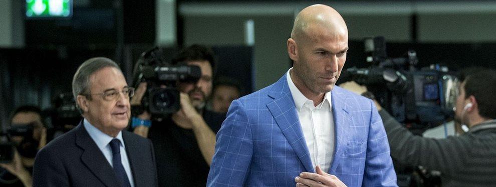 Florentino Pérez ha ordenado a Zinedine Zidane alinear a Vinicius Junior como titular