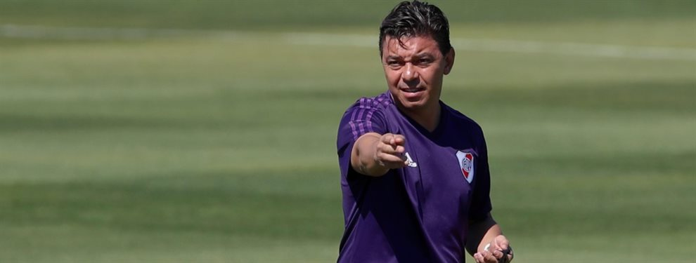 Marcelo Gallardo brindó la nómina de convocados de River para enfrentarse con Huracán.