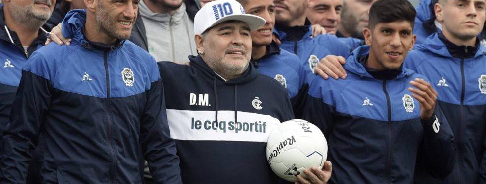 Con el debut de Diego Armando Maradona en la dirección técnica, Gimnasia de La Plata recibe a Racing en el Bosque.