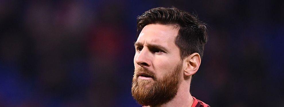 El futuro de Messi se sentía ligado al Barça sin que existiera algún tipo de cuestionamiento al respecto.