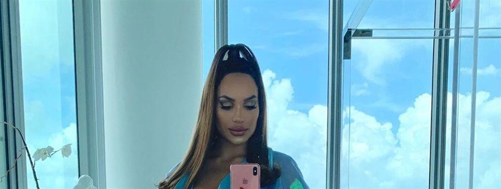 El Short de Andrea Valdiri no puede aguantar tanto:Presume de retaguardia en Miami