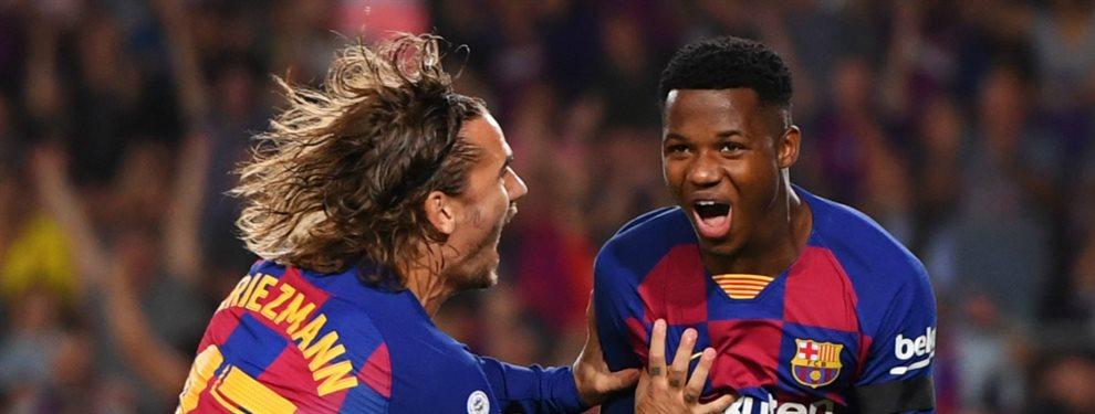 El Barça venció sin dificultades ante el Valencia con un duro correctivo que tuvo como protagonistas a Ansu Fati, Frenkie De Jong y Luis Suárez.