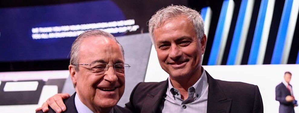 ¡Atención! Mourinho está hoy en Madrid a la espera de lo que pueda pasar. El portugués declara su madridismo y manda un mensaje a Florentino Pérez