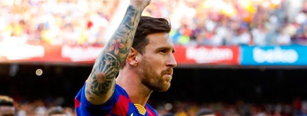 ¡Bombazo! Messi más cerca de marcharse que de quedarse:El vestuario del Barça ayer se ha lucido