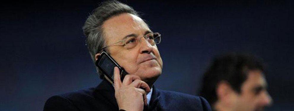 Pillada: ¡Le coge el móvil a Cristiano Ronaldo y cuelga Florentino Pérez!. Ha jugado a dos bandas y ahora se decide por la Juventus de Turín