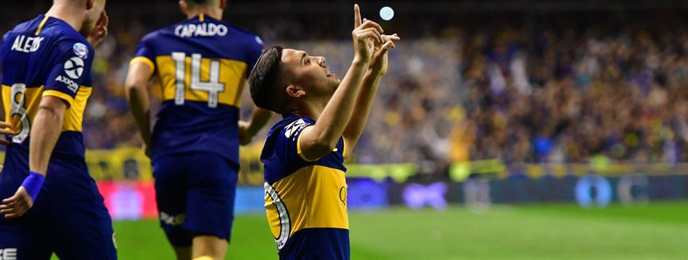 Con gol de Emanuel Reynoso, Boca derrotó 1-0 a Estudiantes de La Plata y es el nuevo líder de la Superliga.