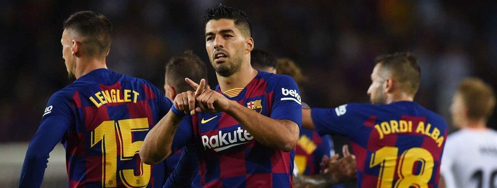 En el Barça esperan que Luis Suárez acabe, de una vez por todas, con su sequía fuera de casa en Champions League