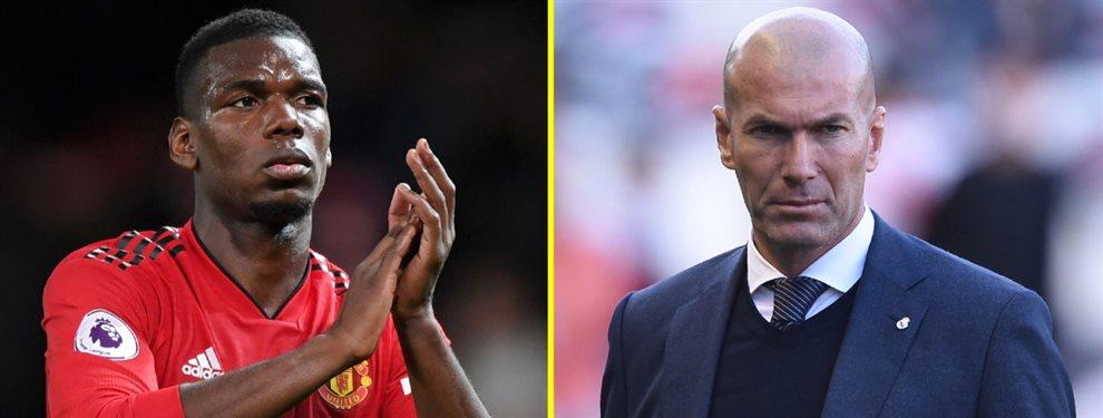 Paul Pogba se ha ofrecido al Barça, lo que ha puesto de los nervios a Zinedine Zidane