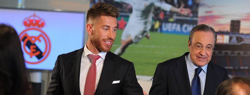 Sergio Ramos se tambalea y Florentino Pérez ya tendría un sustituto en mente: Milan Skriniar