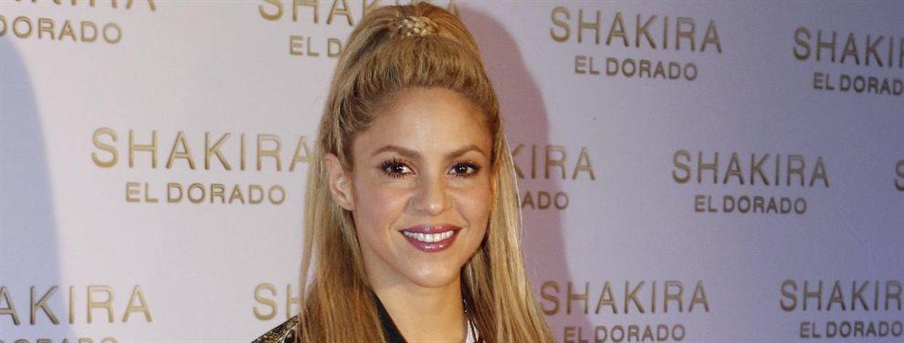 Shakira trató de sacar cola en la última foto con Gerard Piqué, pero su truco no coló