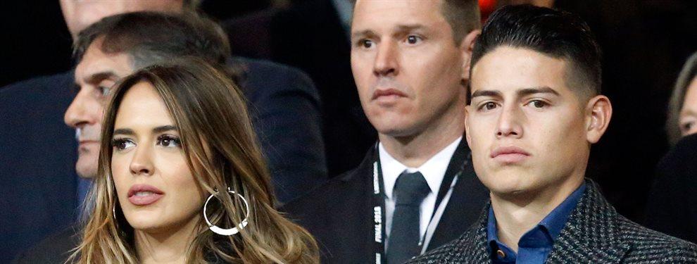 Shannon de Lima no quiere abandonar Madrid y ha prohibido a James Rodríguez salir del Real