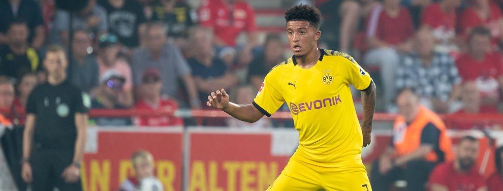 Jadon Sancho no descarta quedarse un año más de lo previsto en el Borussia Dortmund
