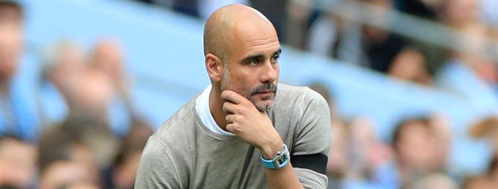 Samuel Umtiti quiere salir del Barça y el Manchester City de Pep Guardiola aparece en el horizonte