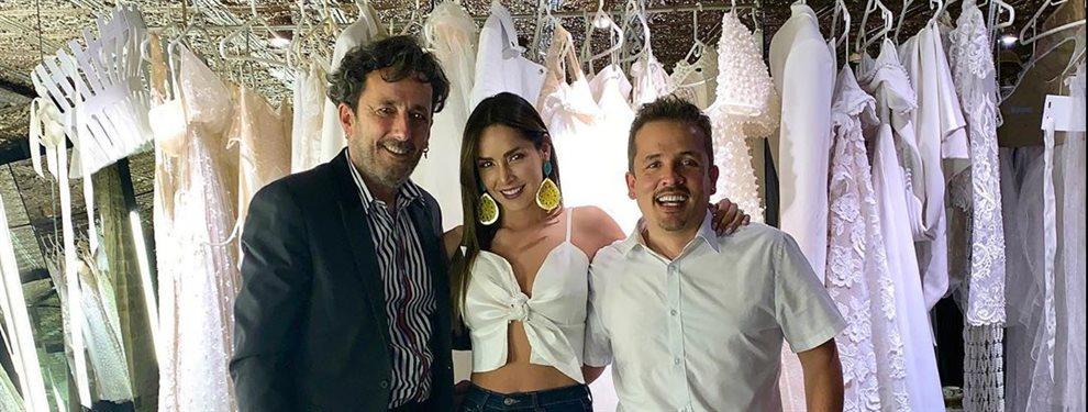 Carmen Villalobos prepara su boda con Sebastián Caicedo mientras ultima la grabación de su serie.