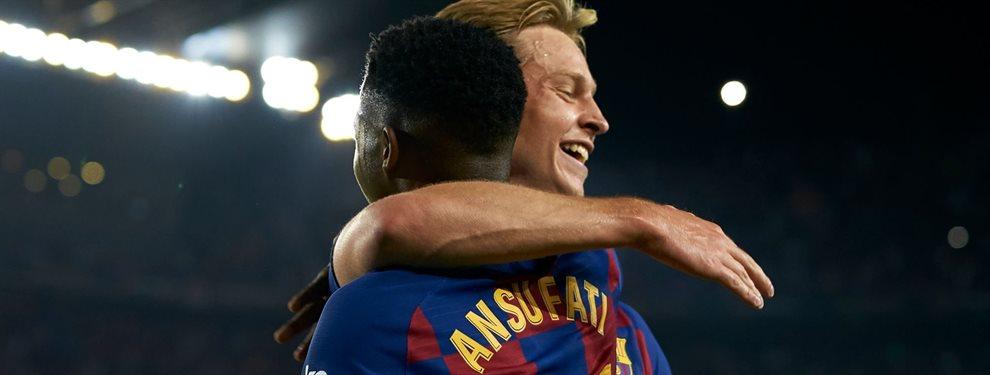 ¡Arde el Barça! Messi lo señaló, Valverde se lo quedó y ahora está olvidado. La calma que precede a la tempestad: varias piezas están a disgusto