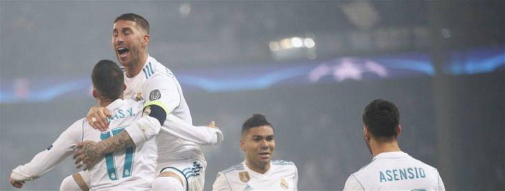 El jugador no quiso negociar con el Real Madrid y ya es la nueva estrella de la Champions