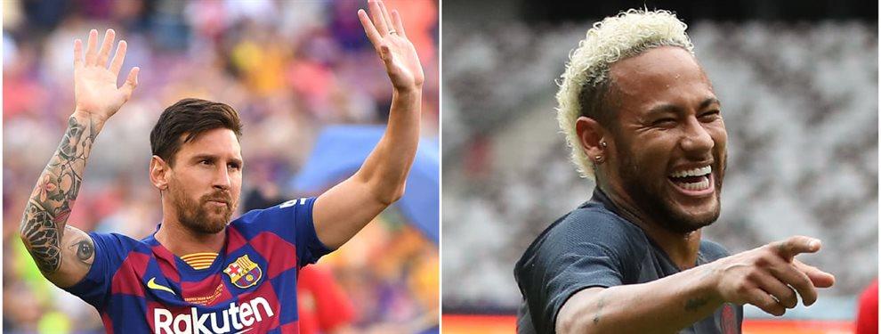 Neymar Junior está empeñado en salir del PSG y no al Barça, si no a la Premier League
