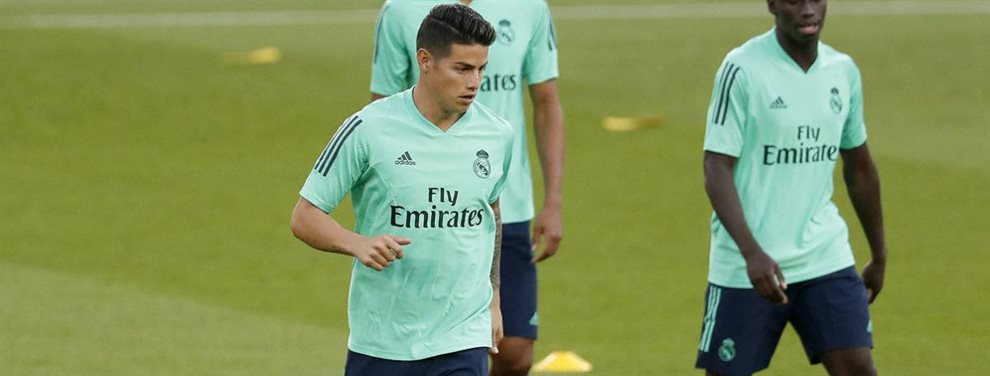 James Rodríguez y Florentino Pérez han pactado que, si la cosa no mejora, Zidane será destituido en diciembre