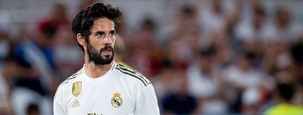 Isco Alarcón tiene una oferta de 70 millones sobre la mesa para salir del Real Madrid