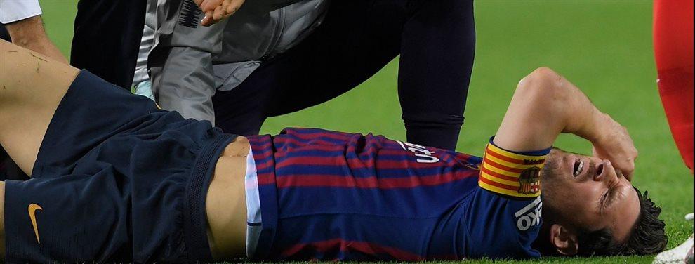 EL argentino volvió a jugar un partido oficial con el Barcelona tras su lesión en pretemporada