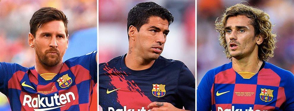 En el Barça contemplan seriamente el nombre de Jadon Sancho, lo que molestaría a Antoine Griezmann