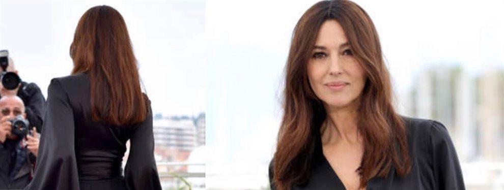El físico y la belleza de la actriz Mónica Belucci no disminuye según van pasando los años.