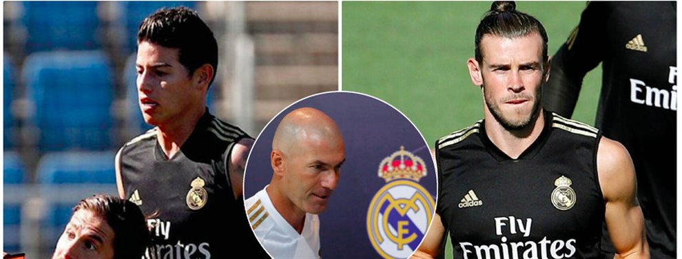 James Rodríguez y Gareth Bale se han desentendido de la situación actual del Real Madrid