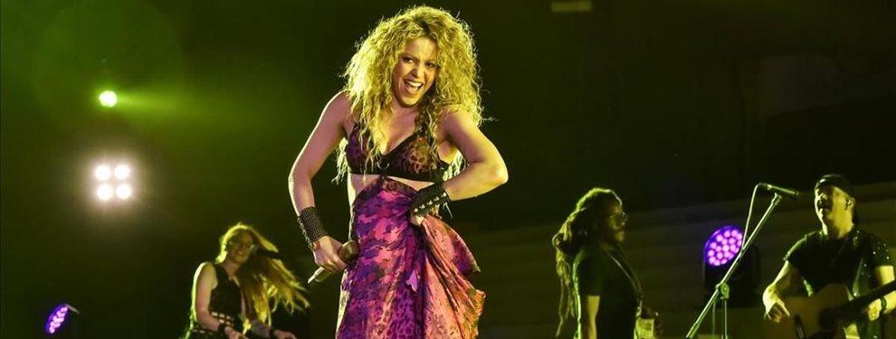 Shakira subió una foto impresionante en la que aparecía irreconocible por el exceso de Photoshop y maquillaje
