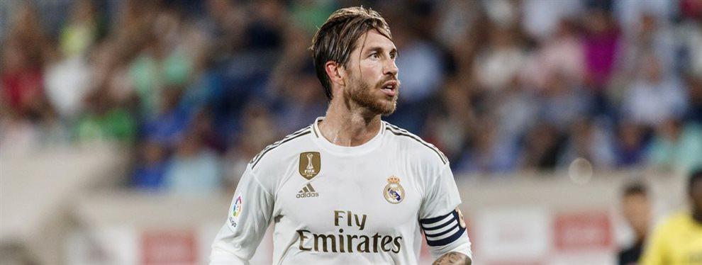 Sergio Ramos tuvo que llamar la atención a Alphonse Areola por su foto con sus excompañeros
