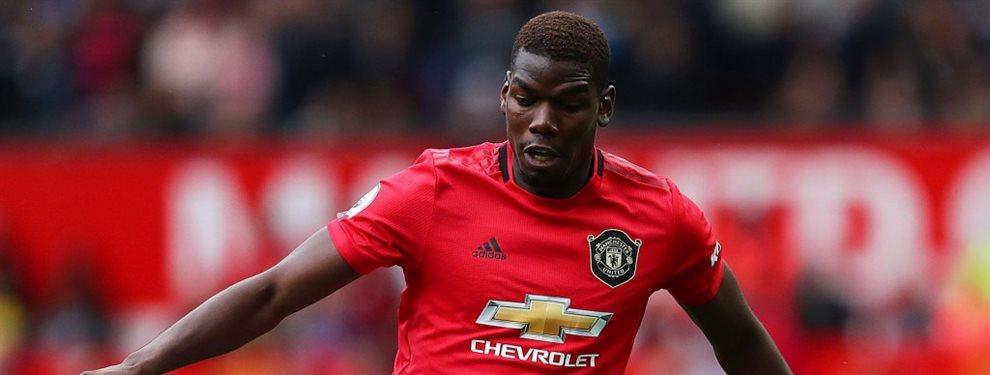 Paul Pogba ha recibido una oferta de renovación del Manchester United que lo aleja del Real Madrid