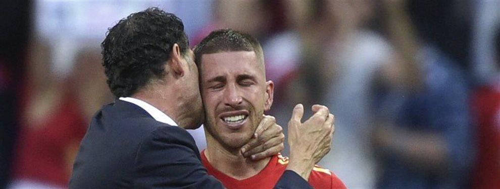 Ha pedido no jugar el próximo partido pero el presidente pasa de su problema y le obliga a centrarse en el fútbol