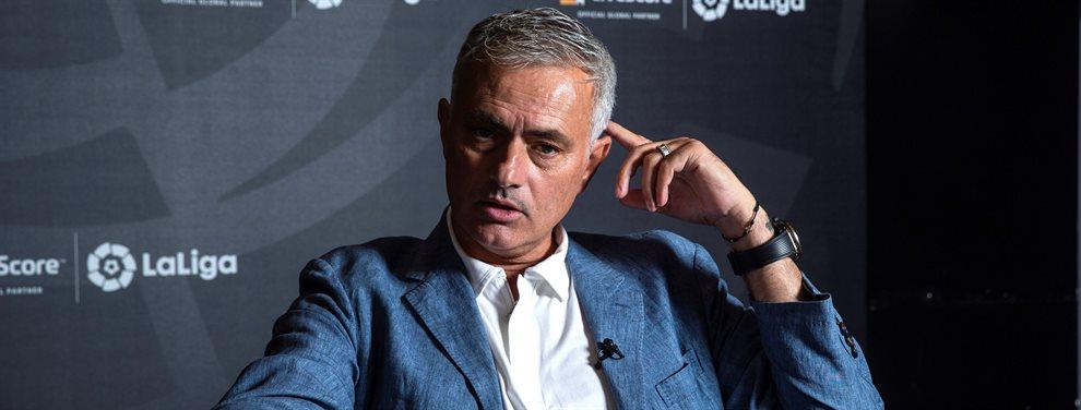 José Mourinho pasará la escoba en el Real Madrid y se cargará a jugadores como Sergio Ramos.