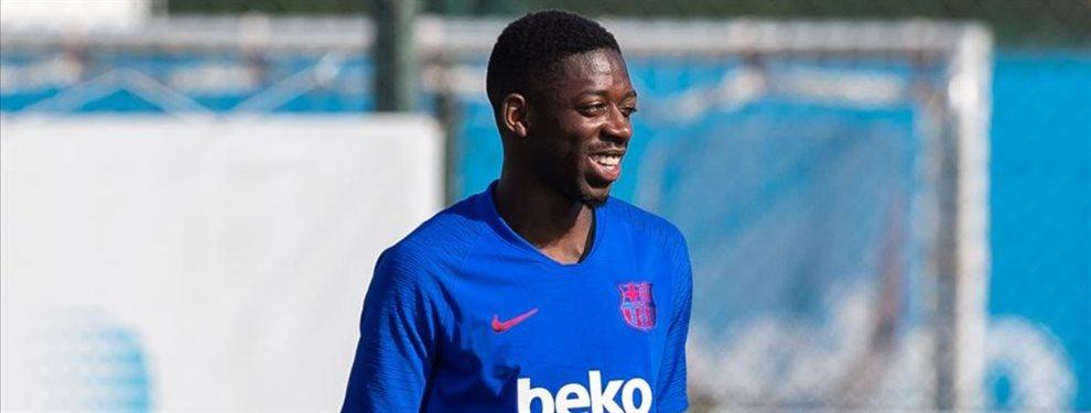 Dani Olmo ha cobrado fuerza como fichaje del Barça en enero para echar a Ousmane Dembélé