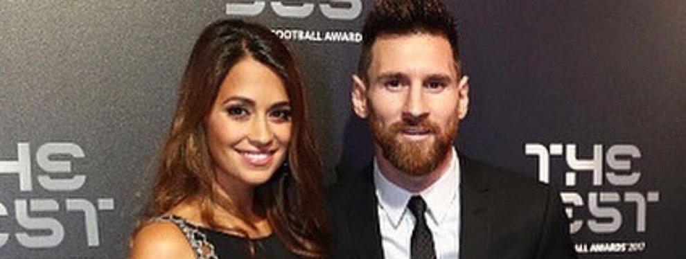 Antonella Rocuzzo tiene una pasión oculta por la compara de zapatos que Messi no sabe.