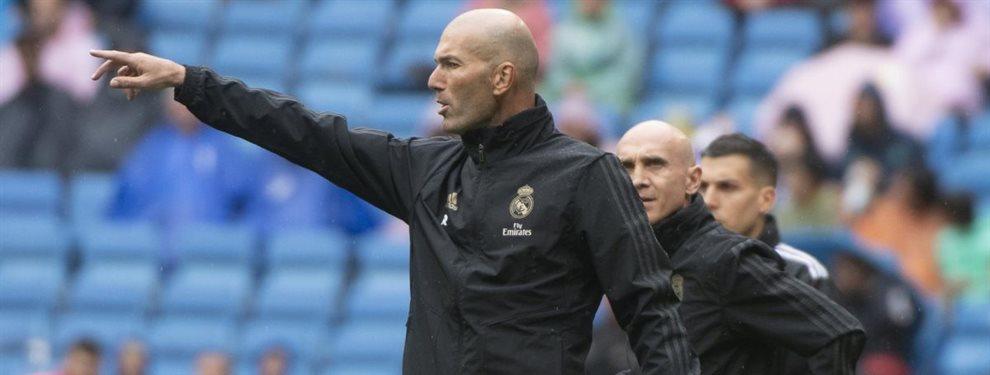 Zinedine Zidane quiere a varios jugadores fuera del Real Madrid y así lo ha hecho saber
