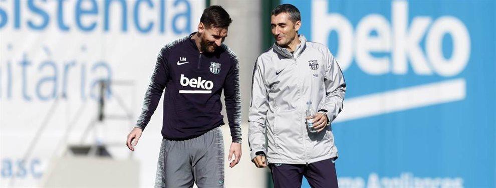 Antoine Griezmann es uno de los causantes de la última pelea entre Leo Messi y Ernesto Valverde