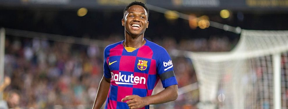 Ansumane Fati tiene una oferta sobre la mesa procedente del Mónaco que es irrechazable