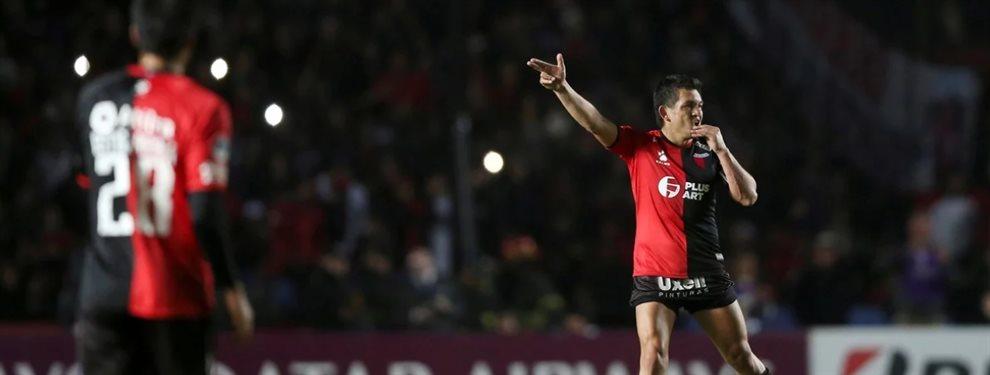 Colón de Santa Fe derrotó 2-1 a Atlético Mineiro por la semifinal de ida de la Copa Sudamericana.