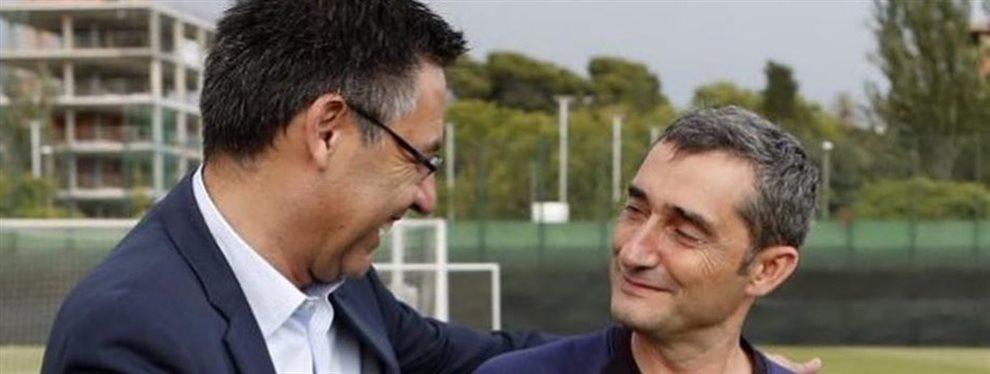 """""""Fíchalo ya o lo va a hacer otro"""" Valverde se lo quiere asegurar:El Barcelona ya tiene un nuevo jugador en mente y no es Neymar"""