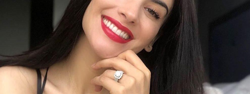 La colombiana llevaba tres años con su pareja y tenían planes de boda            je