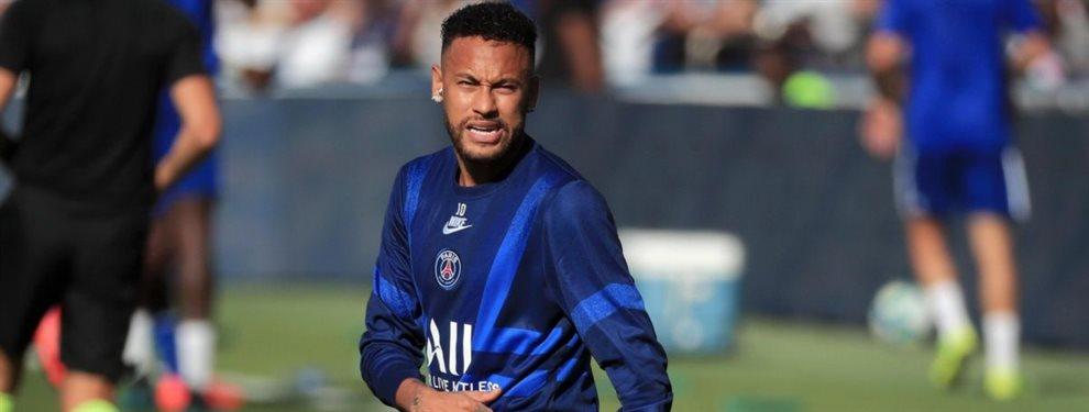 Neymar Junior tiene una propuesta del Manchester United para dejar el Paris Saint-Germain