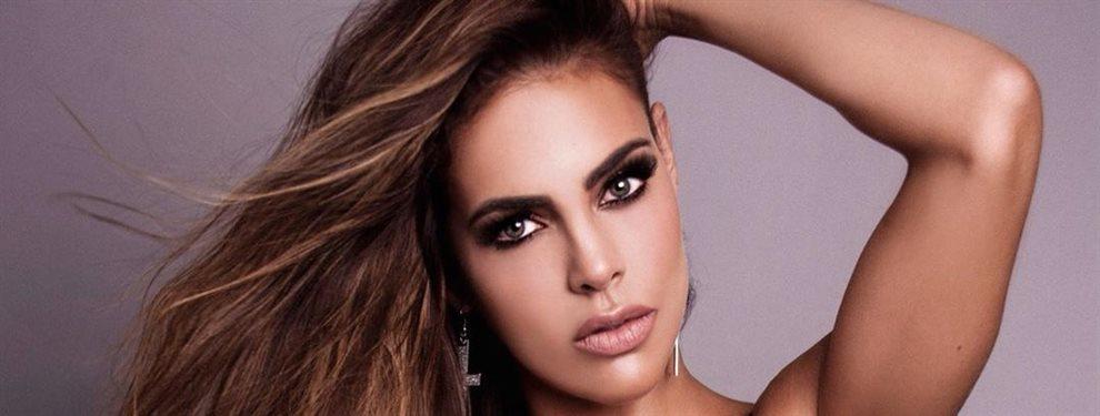 La modelo Sara Corrales se ha peinado con un estilo que recuerda mucho a Angelina Jolie.